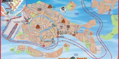 Venetsia Kartta Kartat Venetsia Italia